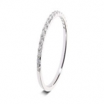 Platinum Wedding Band in Abercraf 9