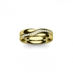 Platinum Wedding Band in Brandy Wharf 4