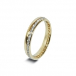 Platinum Wedding Band in Abercraf 4