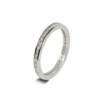 Platinum Wedding Band in Abercraf 1