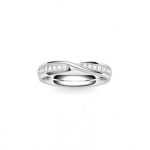 Platinum Wedding Band in Harberton 6