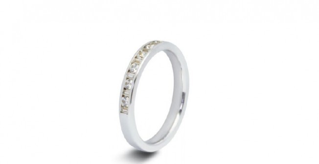 Platinum Wedding Rings in Abercraf